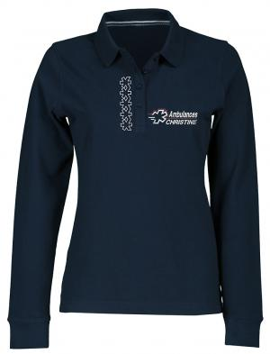 POLO FEMME  LG1 MANCHES LONGUES