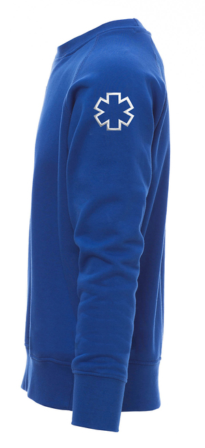Sweat ambulancier bleu royal