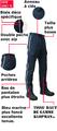 finitions de qualité sur ce pantalon ambulancier haut de gamme.
